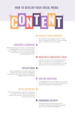 Develop Your Content - Pinterest Pin item