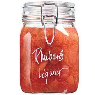 Rhubarb Liqueur.