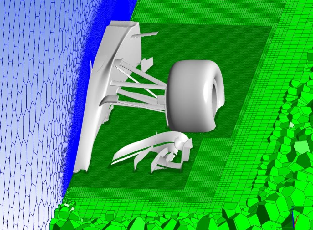 ANSYS - Ранее для построения сетки автомобиля F1 с задействованием только одного ядра требовалось 307 Гб оперативной памяти. При запуске аналогичного процесса на 16-ядерном кластере, требования к оперативной памяти, к которой может обратиться каждое ядро, снизились до 37 Гб или менее