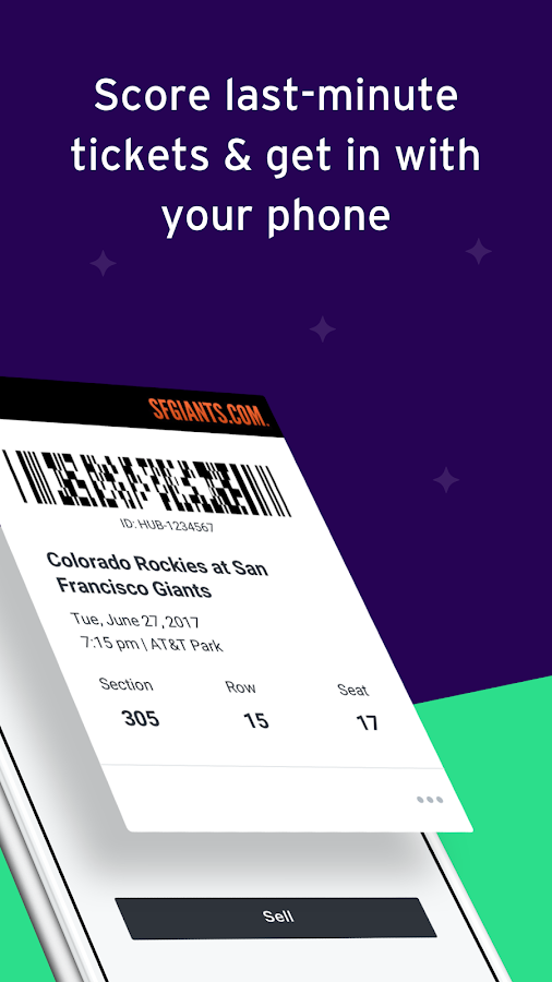 Download StubHub Online APK App for Android Phone - APKBrand
