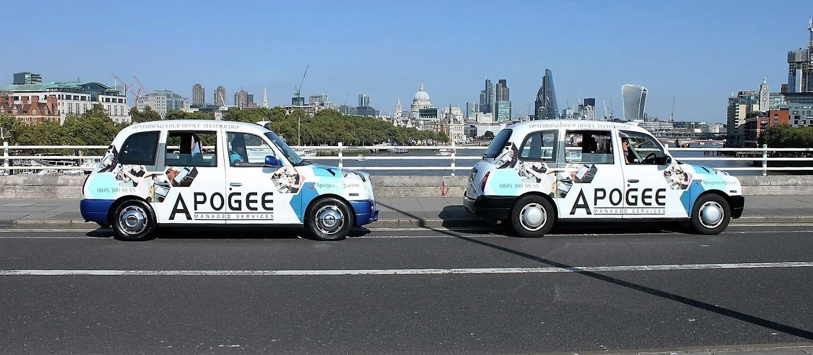 Apogee Corp - Full Wrap Taxis