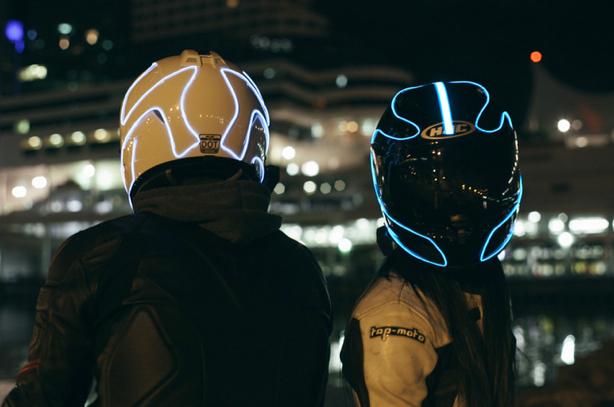 casques lumineux