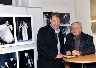 Photo: 5.2.2014 Ausstellungseröffnung Barbara Zeininger und Künstlergespräch Günther Groissböck. Foto: Barbara Zeininger