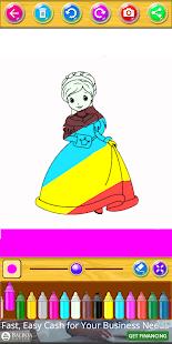Mewarnai dan menggambar putri - náhled