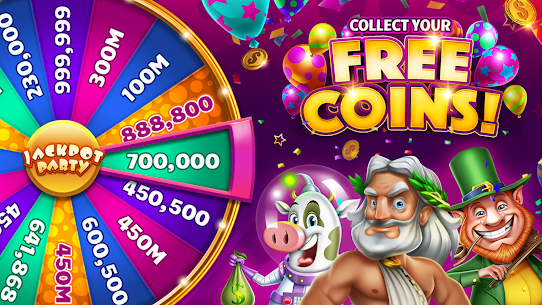 Jackpot Party Casino Games: Spin FREE Casino Slots 5015.00 APK Mod Latest Version 1
