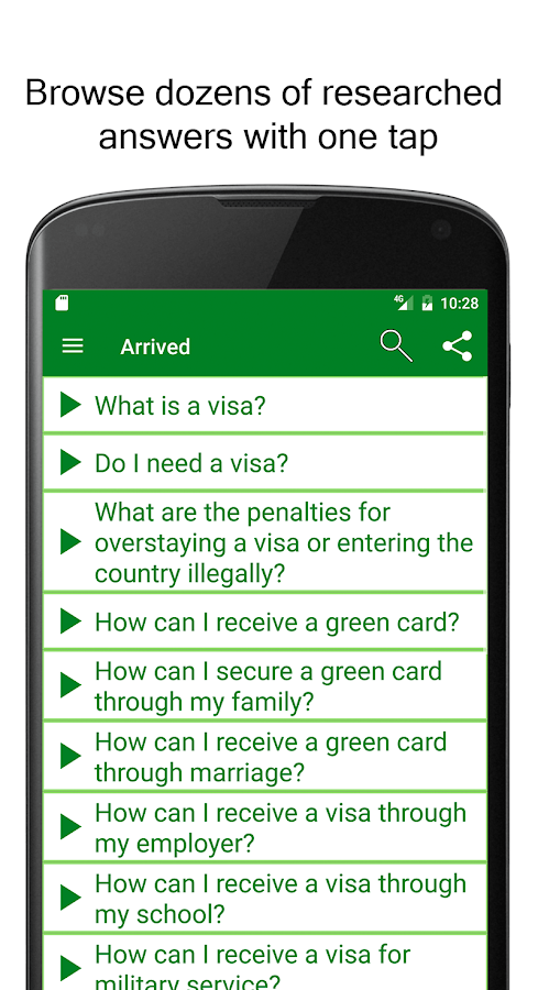 Arrived: US Immigration- screenshot