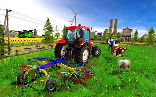 Farming Simulator Game 2018 u2013 Real Tractor Drive 1.4 screenshots 3