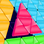 Block! Triangle puzzle: Tangram Icon