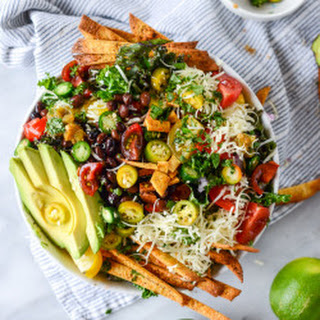 Crunchy Taco Kale Salad.