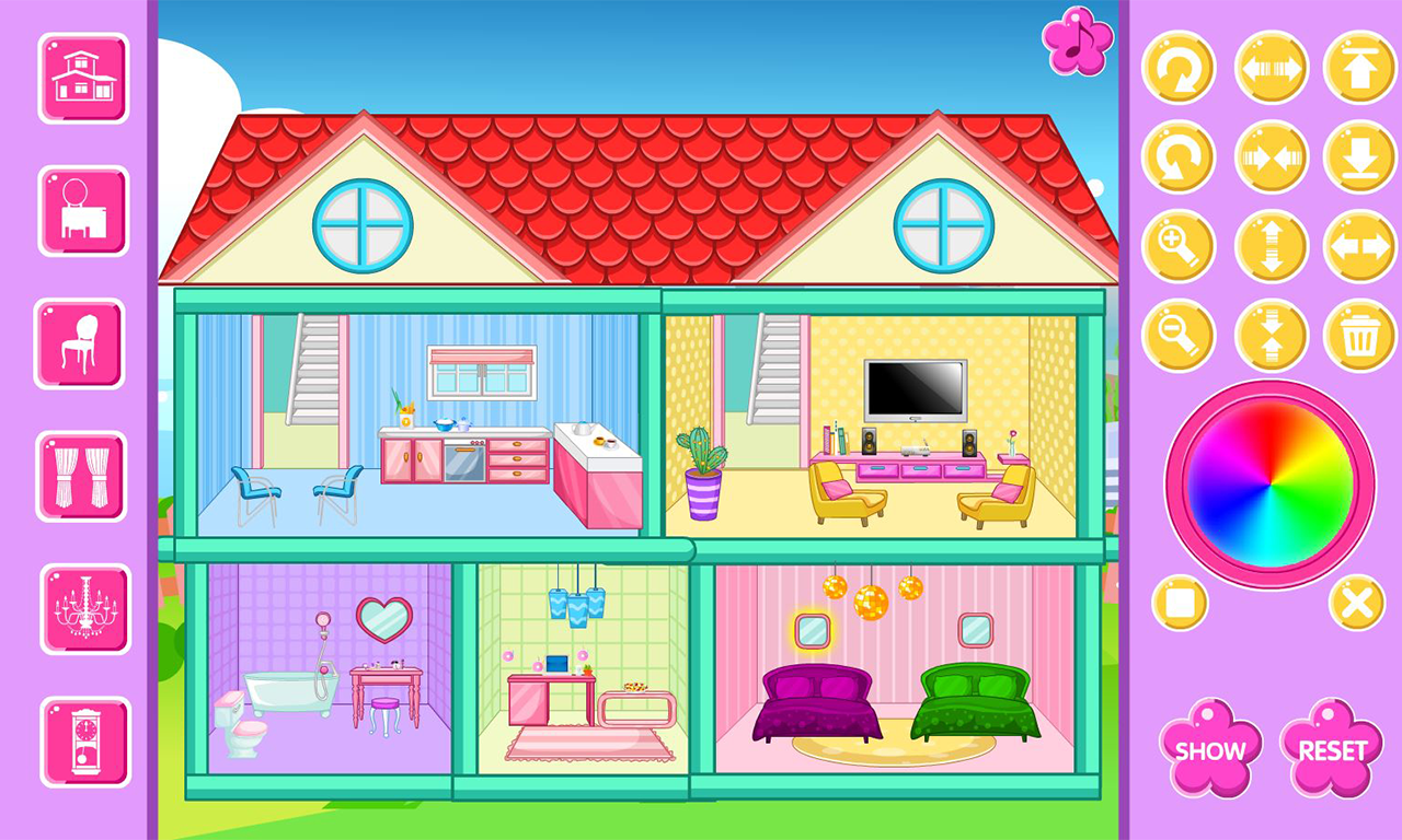 Home Decoration Game Screenshot