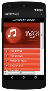 David Phelps Top Songs & Hits Lyrics. - náhled