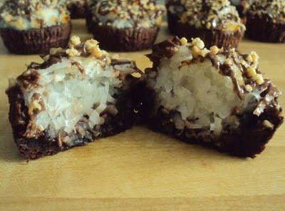 Almond Joy Brownie Bites Recipe