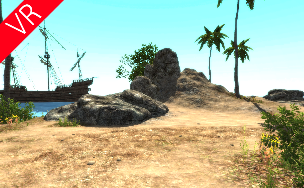 VR Island for Google Cardboard- screenshot