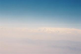 Photo: Anflug auf Nepal, linke Seite sitzen = Himalaya Blick