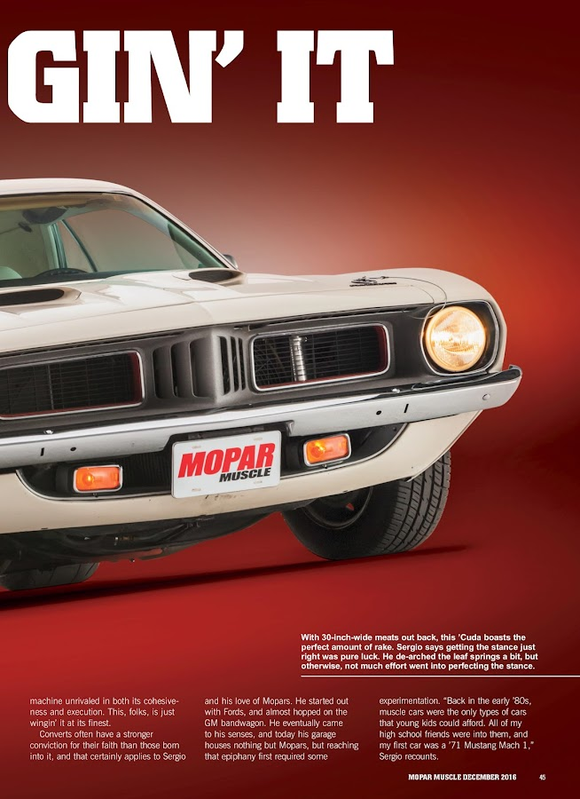 Mopar Muscle- screenshot