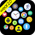 Bubble Widgets + Wear Launcher icon