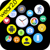 Bubble Widgets + Wear Launcher
