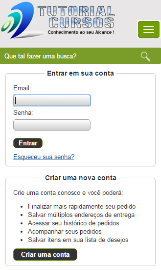 Tutorial Cursos- Cursos Online- screenshot