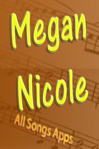 All Songs of Megan Nicole