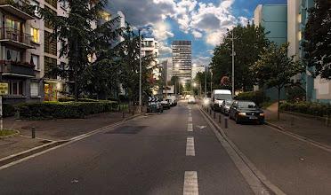 Photo: La rue Jules Ferry au temps ou le jour et la nuit ne faisait qu'un, 2009