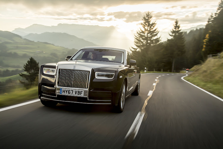 The eighth generation Phantom has more of a dynamic presence in its design