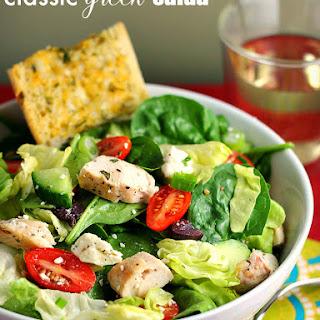 Greek Salad with Chicken