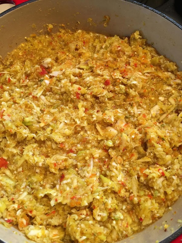 Bring to a boil over med heat, reduce heat and let simmer 3min, remove...