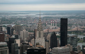 Photo: Kuvassa mm. Chrysler Building