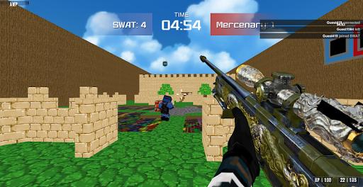 Advanced Blocky Combat SWAT apkpoly screenshots 9