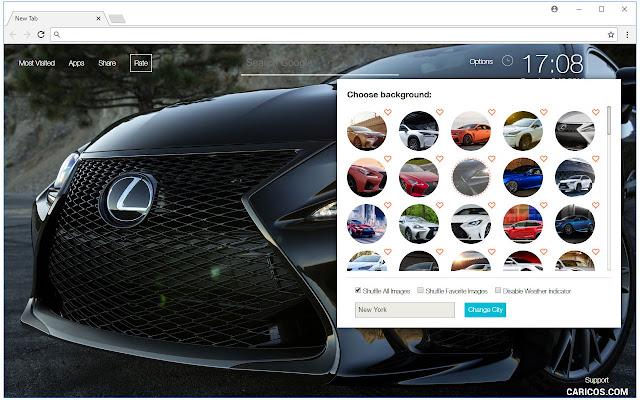 Lexus Cars Wallpaper Custom Luxury Car NewTab