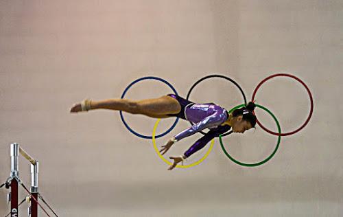 Nei cerchi olimpici di Alida Lazzaro