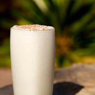 Creamy Coconut Cinnamon Smoothie.