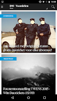 Screenshot of DeMorgen.be Mobile