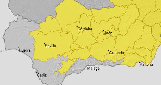 Tormentas con granizo y fuerte viento: el mal tiempo toma Almería este sábado