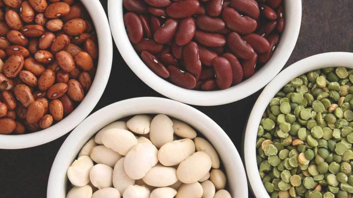 Plant based food heart health beans
