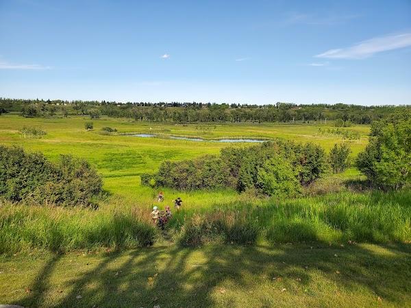 Popular tourist site Fish Creek Provincial Park in Calgary
