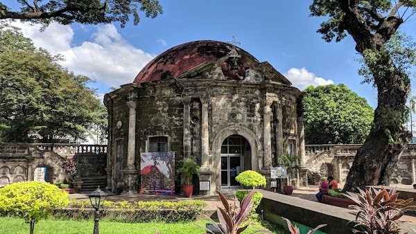 Popular tourist site Paco Park and Cemetery in Manila