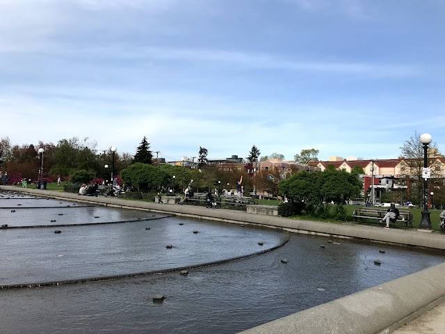 Cal Anderson Park Reflecting Pool
