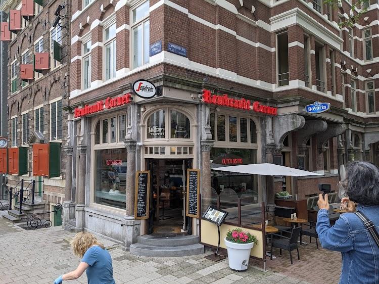 Rembrandt Corner Amsterdam