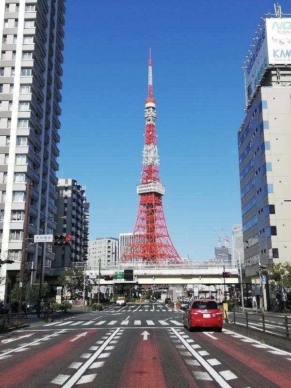 Popular tourist site Tokyo Tower in Tokyo