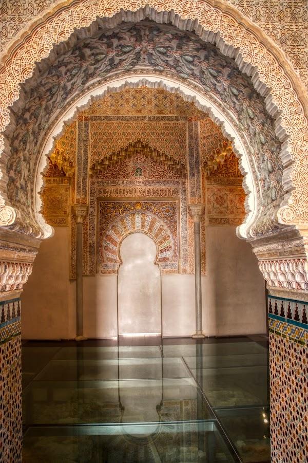 Popular tourist site Palacio de la Madraza in Granada