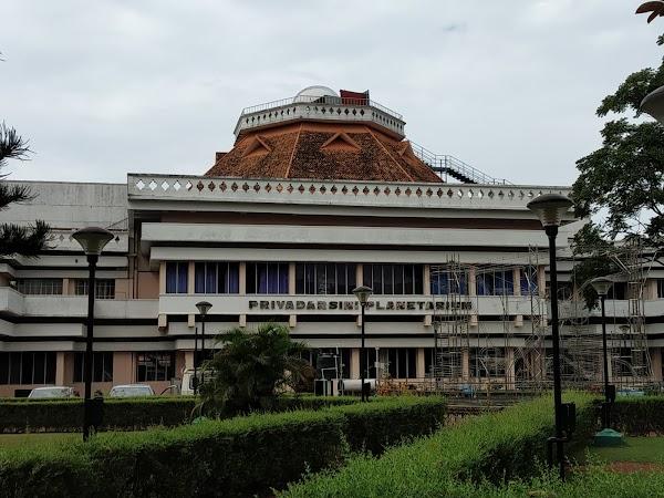 Popular tourist site Priyadarshini Planetarium in Trivandrum