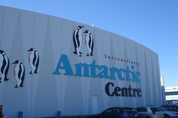 Popular tourist site International Antarctic Centre in Christchurch