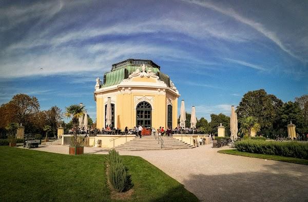 Popular tourist site Schönbrunn Zoo in Vienna