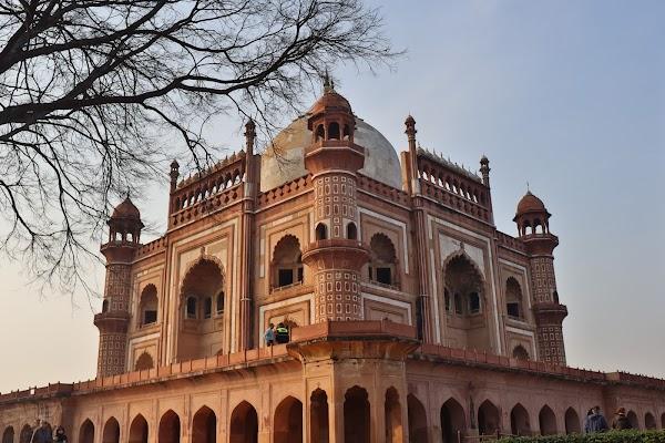 Popular tourist site Safdarjung Tomb in New Delhi