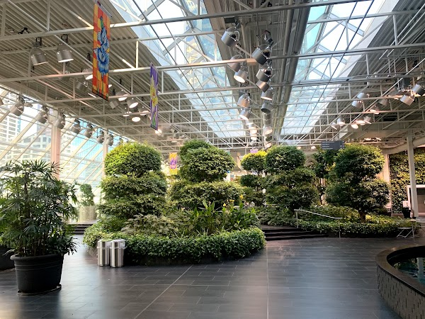 Popular tourist site Devonian Gardens in Calgary