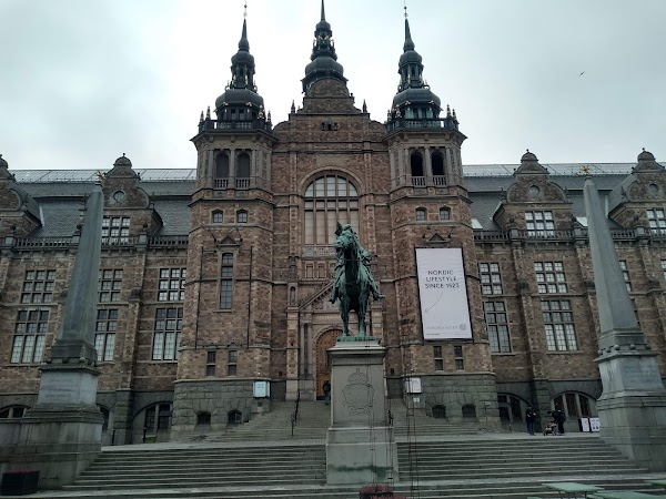 Popular tourist site Nordiska museet in Stockholm