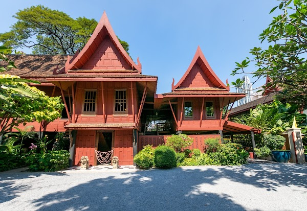 Popular tourist site Jim Thompson House Museum in Bangkok