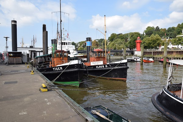 Popular tourist site Museumshafen Oevelgönne e.V. in Hamburg