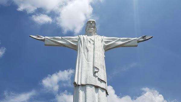 Popular tourist site Cristo Rey in Cali